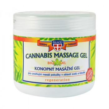 Konopný gel masážní