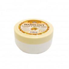Mandlový pleťový a tělový krém, 200 ml