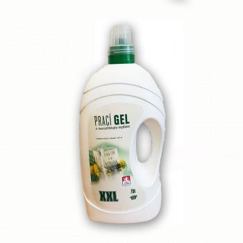 Prací gel s marseillským mýdlem 5,65L