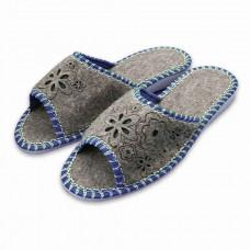 Pantofle filcové dámské otevřené 21A20