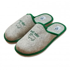 Pantofle filcové uzavřené