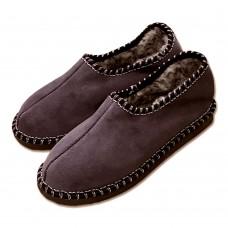 Pantofle s patou, tmavěmodré