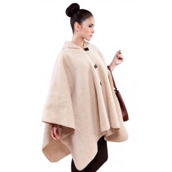 Dámské poncho s kapucí