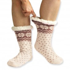 Spací ponožky - vzorované 2+1zdarma