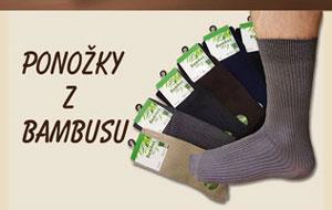 Bambusové Ponožky