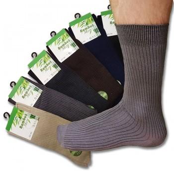 Ponožky bambusové, mix barev 6ks
