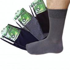 Ponožky bambusové, mix barev 6ks hladké