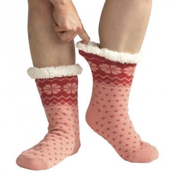 Spací ponožky - vzorované