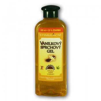 Sprchový gel STIMULAČNÍ Vanilkový 400ml