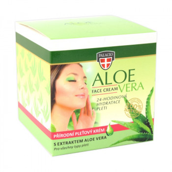 Aloe Vera pleťový krém, 50ml