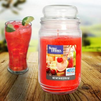 BETTER HOMES svíčka ve skle Chilled Cherry Limeade 510 g