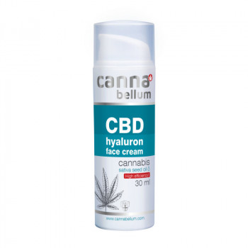 CBD pleťový krém s kyselinou hyaluronovou