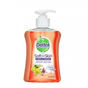 DETTOL Kids Ovocné bubliny tekuté mýdlo dávkovač, 250 ml