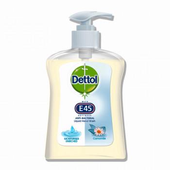 DETTOL Antibakteriální tekuté mýdlo s heřmánkem E45, 250 ml