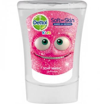 DETTOL Kouzelník antibakteriální mýdlo do dávkovače, 250 ml
