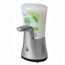 DETTOL bezdotykový dávkovač mýdla a hydratující náplň s mýdlem Aloe Vera, 250 ml