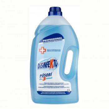 DISINFEKTO dezinfekce na podlahy a plochy s vůní květin, 5 L