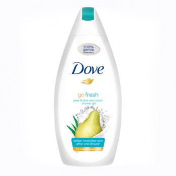 DOVE Go Fresh sprchový gel hruška a aloe vera, 750 ml