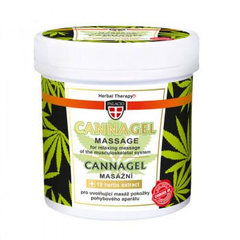 Konopný masážní gel CANNAGEL, 250 ml