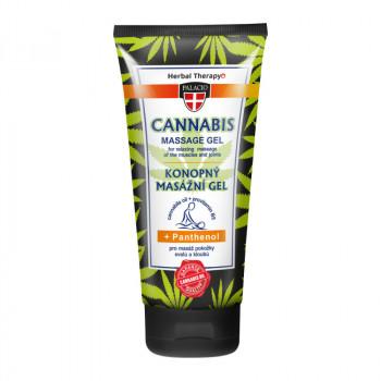 Konopný masážní gel s panthenolem, 200 ml