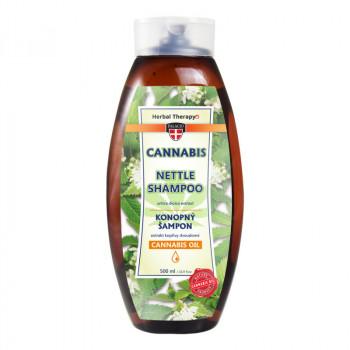 Konopný šampon s kopřivou, 500 ml