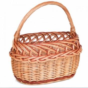 Proutěný košík - nákupní