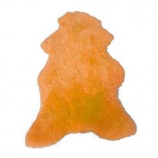 Ovčí kůže barvená oranž