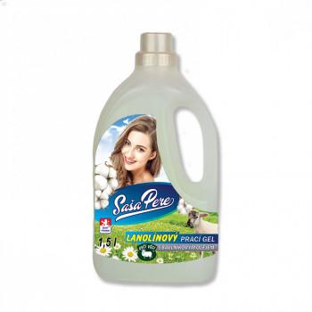 Lanolinový prací gel s bavlníkovým olejem