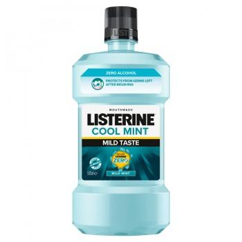 Listerine Cool Mint Mild Taste ústní voda, 500 ml