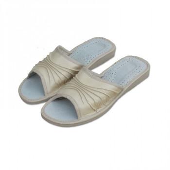 Dámské pantofle bílé
