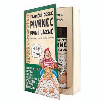 Dárková sada kniha Pivrnec – gel 200 ml a šampon 200 ml
