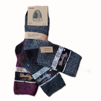 Vlněné ponožky Alpaka  dámské - sada 3 ks