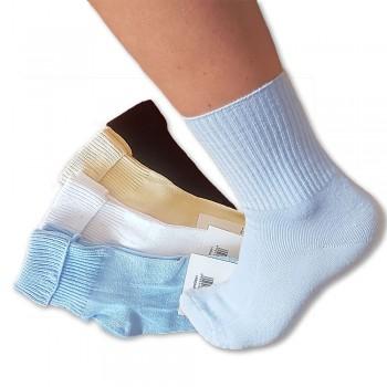 Bambusové ponožky dámské bez gumičky 4ks