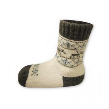 Funkční dětské ponožky z ovčí vlny Merino
