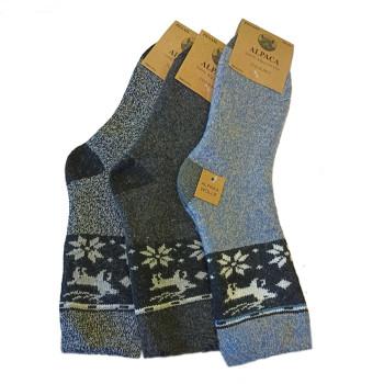 vlněné ponožky Lama Alpaka