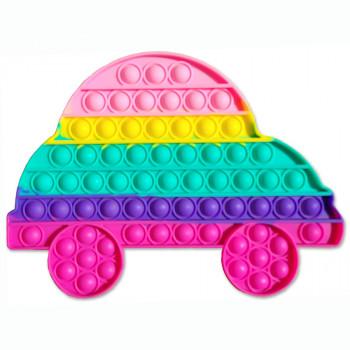 Pop It antistresová hračka - velké auto