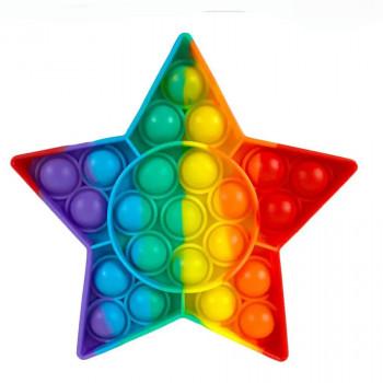 Pop It antistresová hračka Hvězda