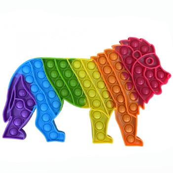 Pop It antistresová hračka - velký Lev