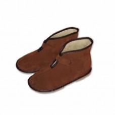 Pantofle kotníkové- na suchý zip
