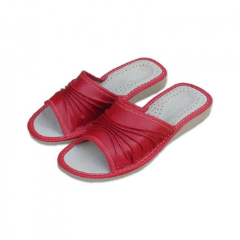 Dámské pantofle červené