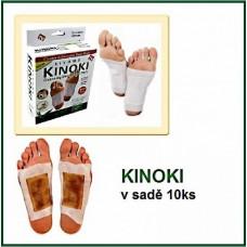 Kinoki - detoxikační náplasti