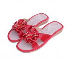 Dámské pantofle kytka
