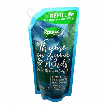 RADOX Protect Antibakteriální tekuté mýdlo s tymiánem náhradní náplň
