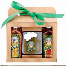 Dárková sada Pivrnec – gel 100 ml, mýdlo 85 g a šampon 100 ml