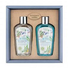 BOHEMIA Kosmetická sada – gel 250 ml a šampon 250 ml – Mrtvé moře