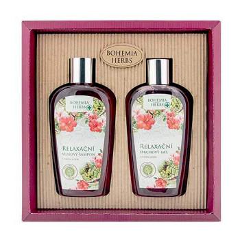 BOHEMIA Kosmetická sada – gel 250 ml a šampon 250 ml – hadí jed