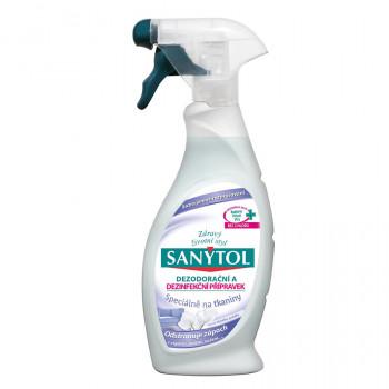 SANYTOL Dezinfekční a dezodorační přípravek na tkaniny, 500 ml