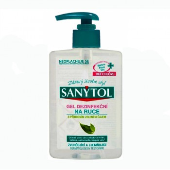 SANYTOL dezinfekční gel, 250 ml