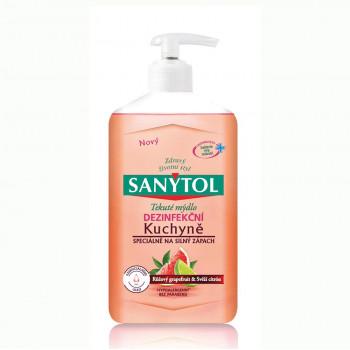 SANYTOL Dezinfekční mýdlo do kuchyně - Grapefruit & Limetka, 250 ml