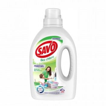 SAVO Universal bez chlóru prací gel